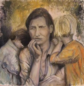 femme et enfants