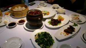 Des plats au restaurant Jade Garden