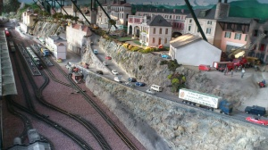 Le jardin ferroviaire - Chatte