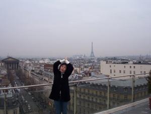 La terrasse du Printemps, Paris