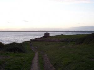 Ballade le long de la côte à Howth