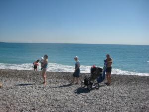 Plage du Grand Large Cagnes-sur-Mer